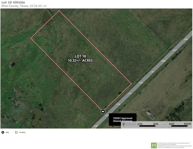 Lot 10 Hwy 51 N, Slidell, TX 76234 (MLS #14562584) :: The Good Home Team