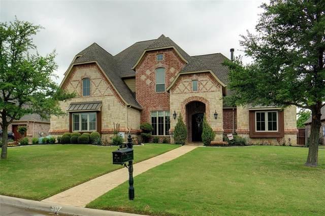 507 Clear Vista Drive, Trophy Club, TX 76262 (MLS #14565887) :: Wood Real Estate Group