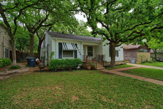 2008 Bluebonnet Drive, Fort Worth, TX 76111 (MLS #14568546) :: Front Real Estate Co.