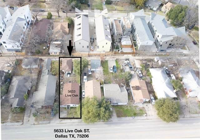 5633 Live Oak Street, Dallas, TX 75206 (MLS #14569215) :: Feller Realty