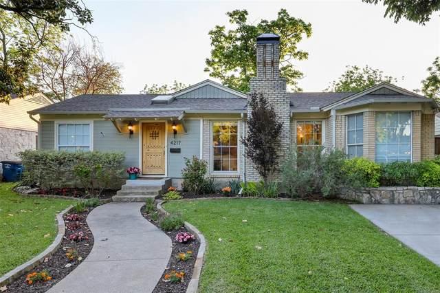 4217 Delmar Avenue, Dallas, TX 75206 (MLS #14570599) :: Robbins Real Estate Group