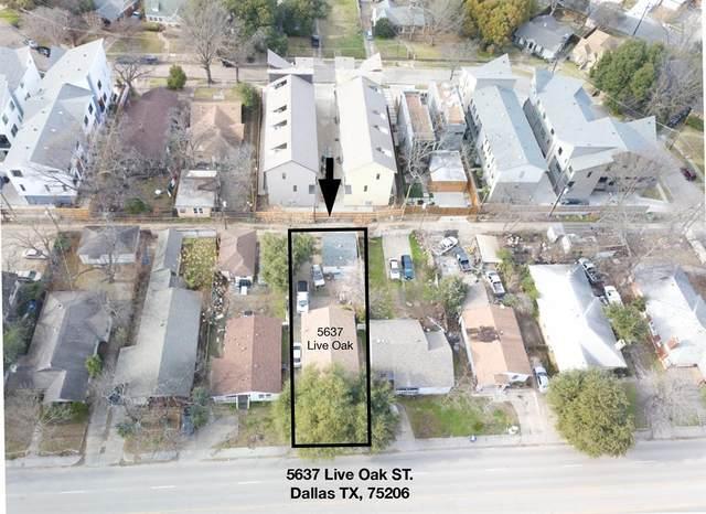 5637 Live Oak Street, Dallas, TX 75206 (MLS #14572213) :: Feller Realty