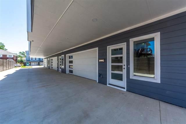 4633 Virginia Avenue #103, Dallas, TX 75204 (MLS #14575383) :: Real Estate By Design