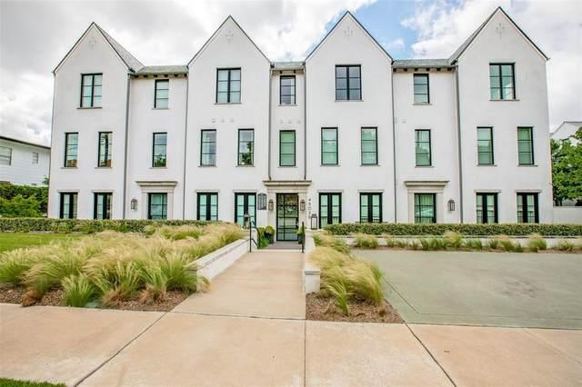 4502 Abbott Avenue #103, Highland Park, TX 75205 (MLS #14586351) :: VIVO Realty