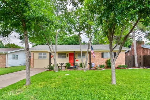 2533 Woodard Street, Abilene, TX 79605 (MLS #14589413) :: Maegan Brest   Keller Williams Realty