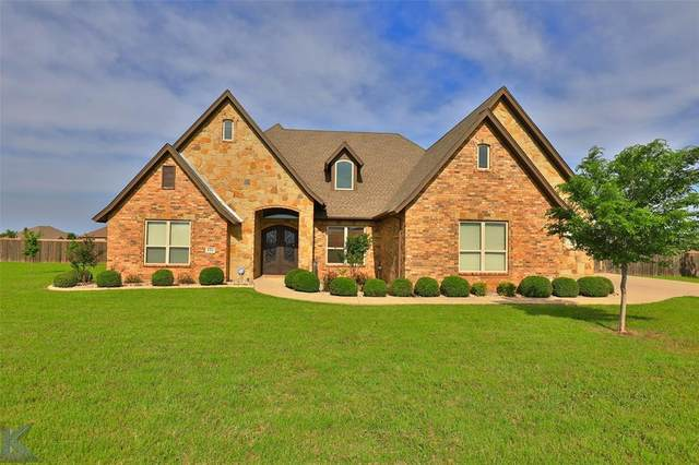 126 Turkey Creek Lane, Abilene, TX 79602 (MLS #14589886) :: The Tierny Jordan Network