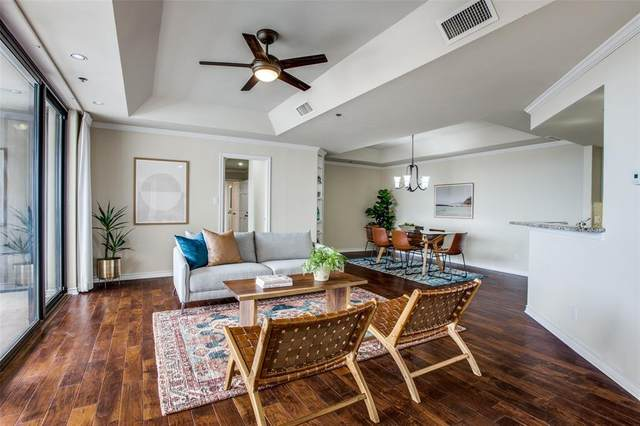 5909 Luther Lane #1405, Dallas, TX 75225 (#14590504) :: Homes By Lainie Real Estate Group