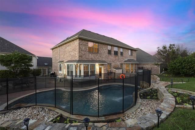 4820 Ridge Circle, Benbrook, TX 76126 (MLS #14591344) :: Front Real Estate Co.