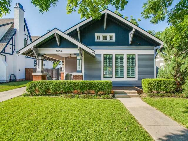 5840 Palo Pinto Avenue, Dallas, TX 75206 (MLS #14592068) :: Real Estate By Design
