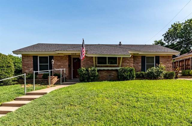 1816 Tyler Avenue, Euless, TX 76040 (MLS #14592389) :: Front Real Estate Co.