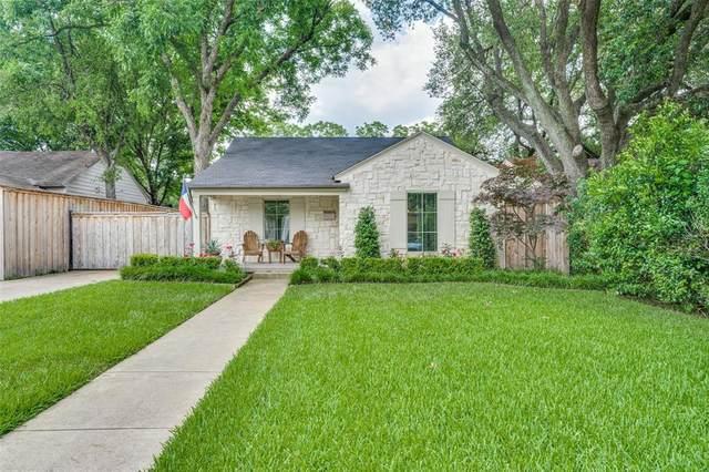 4818 Elsby Avenue, Dallas, TX 75209 (MLS #14593795) :: VIVO Realty