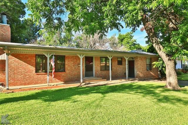 4141 Monticello Street, Abilene, TX 79605 (MLS #14594618) :: The Chad Smith Team