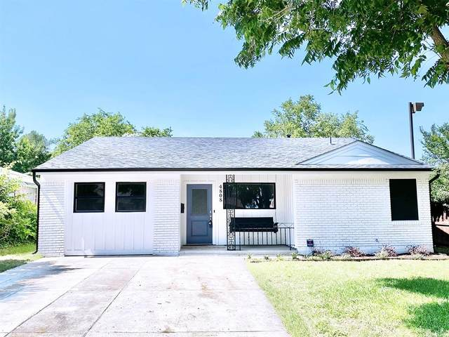 4808 Curzon Avenue, Fort Worth, TX 76107 (MLS #14594735) :: The Russell-Rose Team