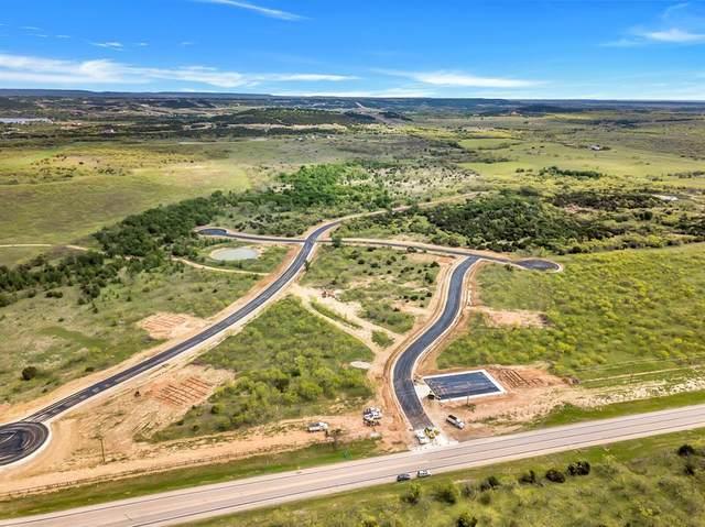 Lot 10 Green Elm Rd, Possum Kingdom Lake, TX 76449 (MLS #14596156) :: The Good Home Team