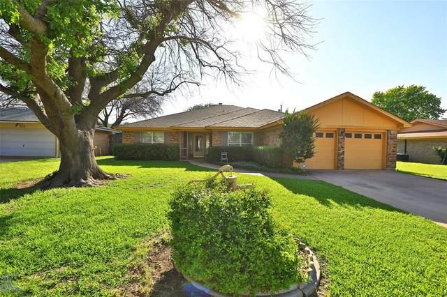 726 Kenwood Drive, Abilene, TX 79601 (MLS #14596647) :: Robbins Real Estate Group