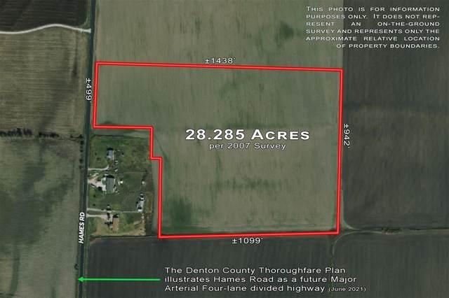 0000 Hames Road, Pilot Point, TX 76258 (MLS #14597814) :: Robbins Real Estate Group