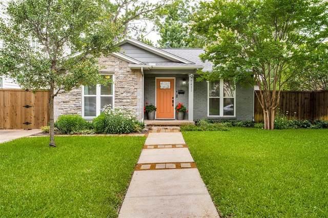 7411 Morton Street, Dallas, TX 75209 (MLS #14601739) :: Wood Real Estate Group