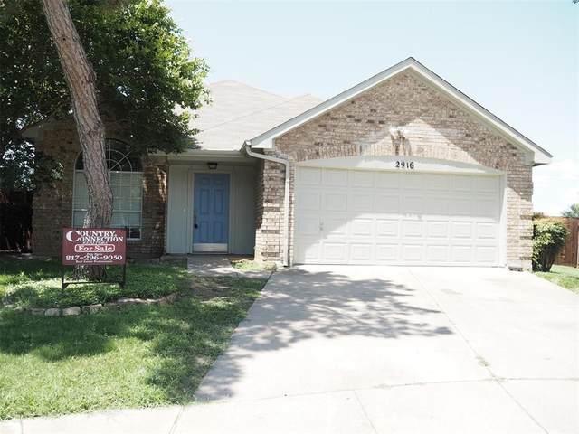 2916 San Gabriel Court, Fort Worth, TX 76118 (MLS #14603363) :: The Good Home Team