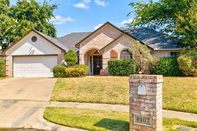 6107 Castle Creek Road, Arlington, TX 76017 (MLS #14603402) :: The Rhodes Team
