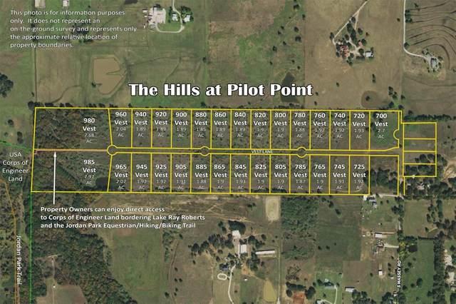 765 Vest Lane, Pilot Point, TX 76258 (MLS #14605380) :: Team Tiller
