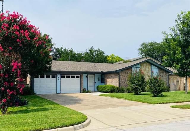 1511 Goliad Drive, Arlington, TX 76012 (MLS #14606425) :: Trinity Premier Properties