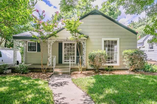 4009 El Campo Avenue, Fort Worth, TX 76107 (MLS #14608250) :: Real Estate By Design