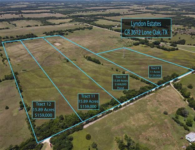 Tract11 County Rd 3216, Lone Oak, TX 75453 (MLS #14608299) :: Real Estate By Design