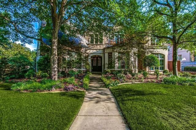 4201 Versailles Avenue, Highland Park, TX 75205 (MLS #14609969) :: The Hornburg Real Estate Group