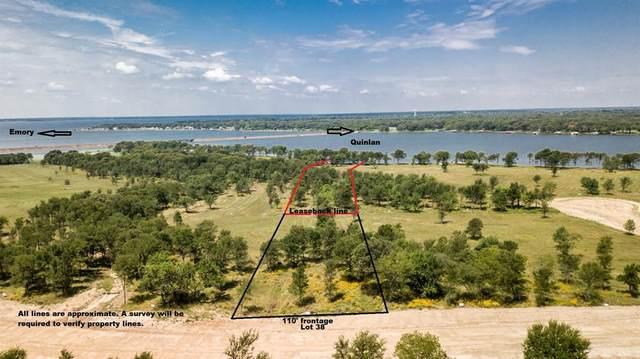 TBD Lot 38 Lago Vista Drive, East Tawakoni, TX 75472 (MLS #14617429) :: Robbins Real Estate Group