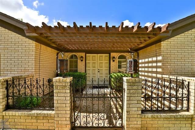 2402 Stonecrest Drive, Abilene, TX 79606 (MLS #14621112) :: Wood Real Estate Group