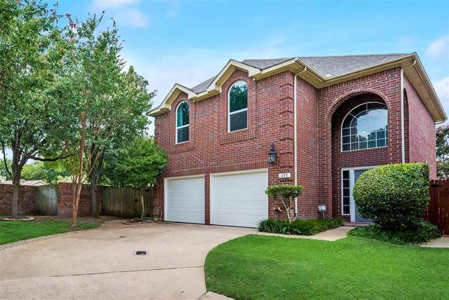 327 Arbor Court, Euless, TX 76039 (MLS #14621694) :: 1st Choice Realty