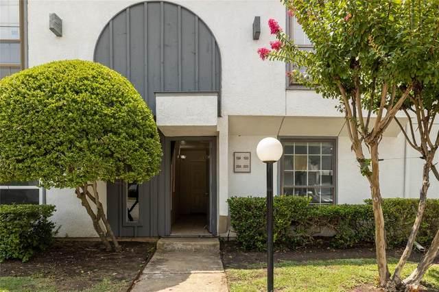 12888 Montfort Drive #123, Dallas, TX 75230 (MLS #14624293) :: Real Estate By Design