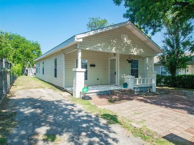 2517 Refugio Avenue, Fort Worth, TX 76164 (MLS #14627308) :: Real Estate By Design
