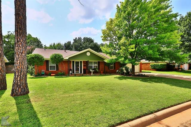 1410 Meadowbrook Drive, Abilene, TX 79603 (MLS #14628384) :: The Mitchell Group