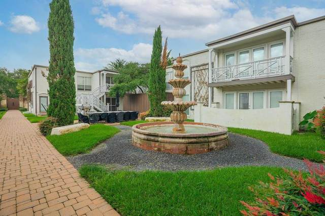 5915 E University Boulevard #112, Dallas, TX 75206 (MLS #14630577) :: Real Estate By Design