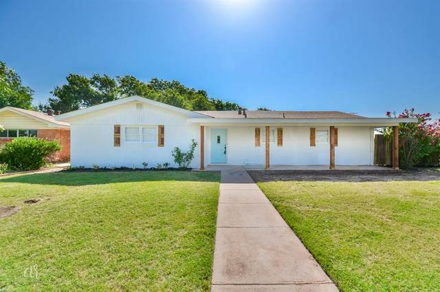849 Fannin Street, Abilene, TX 79603 (MLS #14630874) :: Real Estate By Design