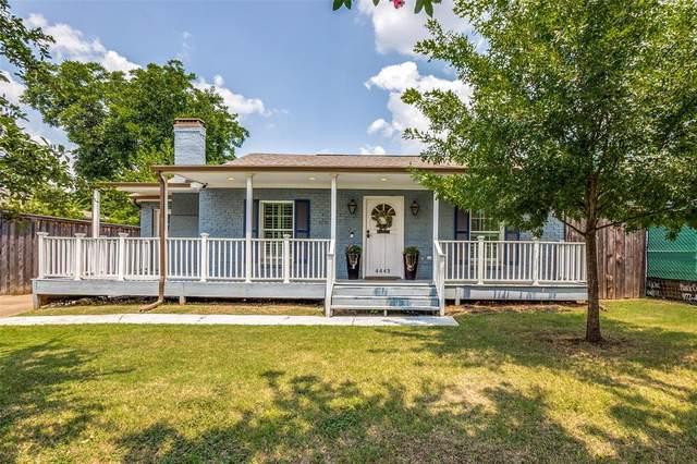 4443 Newmore Avenue, Dallas, TX 75209 (MLS #14632396) :: Real Estate By Design