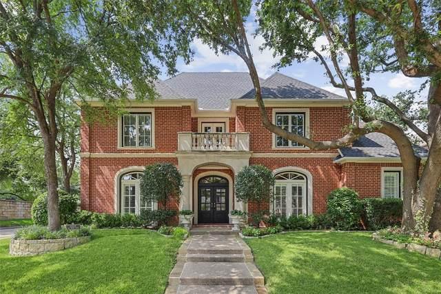 6903 Oak Manor Drive, Dallas, TX 75230 (MLS #14633287) :: The Mauelshagen Group
