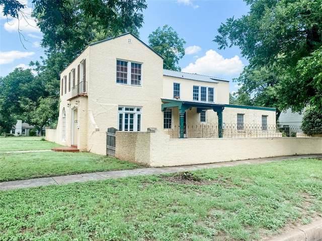 1005 S College Street, Brady, TX 76825 (MLS #14634696) :: The Good Home Team