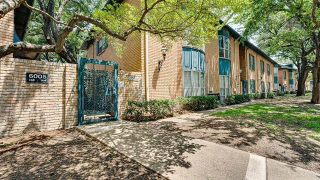 6005 E University Boulevard #139, Dallas, TX 75206 (MLS #14635059) :: The Tierny Jordan Network
