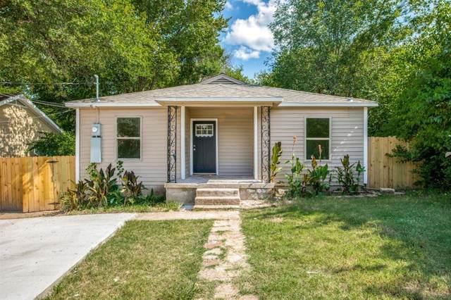 2224 Morrell Avenue, Dallas, TX 75203 (MLS #14639169) :: Frankie Arthur Real Estate