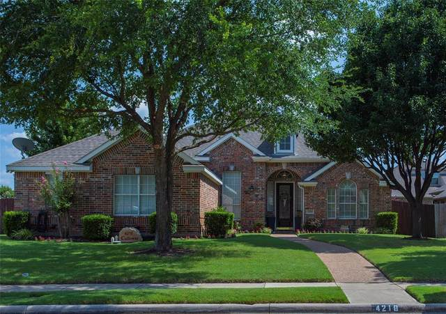 4218 Calloway Drive, Mansfield, TX 76063 (MLS #14639742) :: The Chad Smith Team