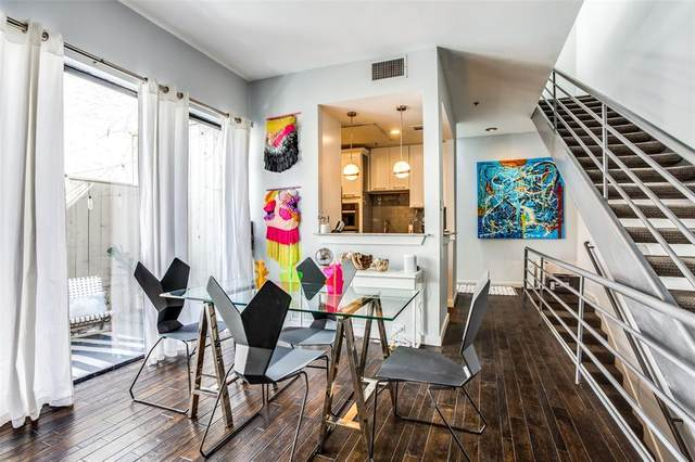 3920 Travis Street #3, Dallas, TX 75204 (#14640398) :: Homes By Lainie Real Estate Group