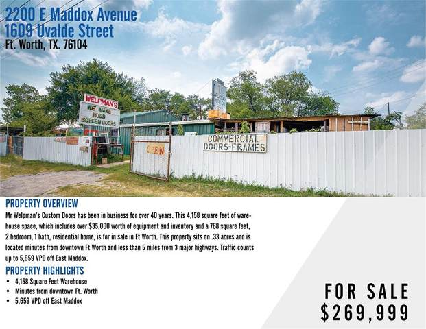 2200 E Maddox Avenue, Fort Worth, TX 76104 (MLS #14644120) :: Real Estate By Design