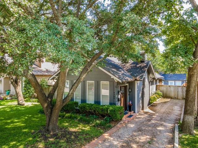 4705 Pershing Avenue, Fort Worth, TX 76107 (MLS #14647013) :: Lisa Birdsong Group | Compass