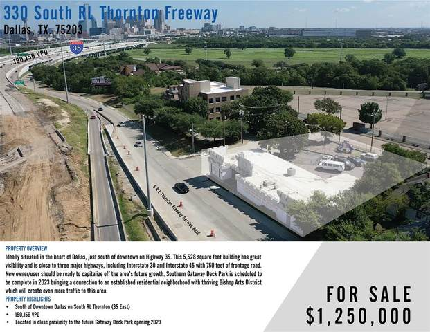 330 S R L Thornton, Dallas, TX 75203 (MLS #14649544) :: The Chad Smith Team