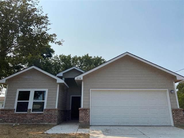 2118 King Street, Greenville, TX 75401 (MLS #14650500) :: The Good Home Team