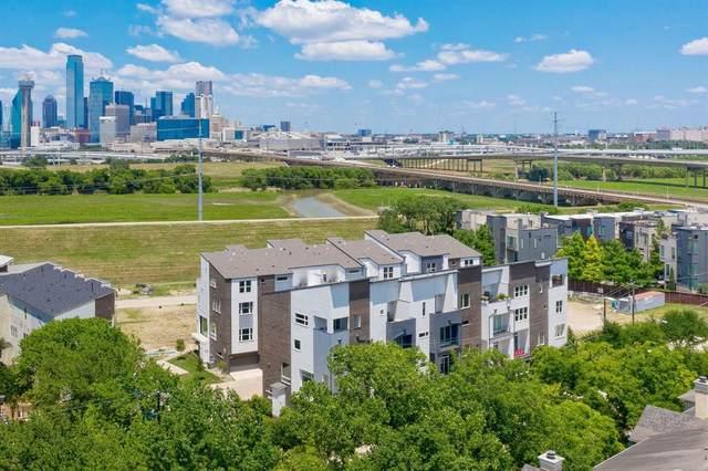 381 E Greenbriar Lane #1506, Dallas, TX 75203 (MLS #14661199) :: All Cities USA Realty