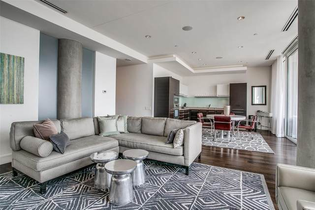 2408 Victory Park Lane #1132, Dallas, TX 75219 (#14667261) :: Homes By Lainie Real Estate Group