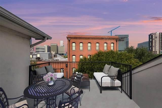 2205 Canton Street #111, Dallas, TX 75201 (MLS #14668232) :: Robbins Real Estate Group